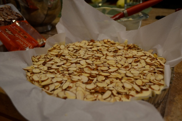 Almond Cake Oven Ready