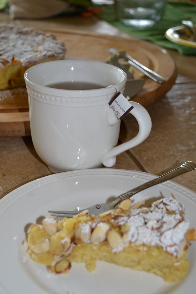 Almond Cake with Tea
