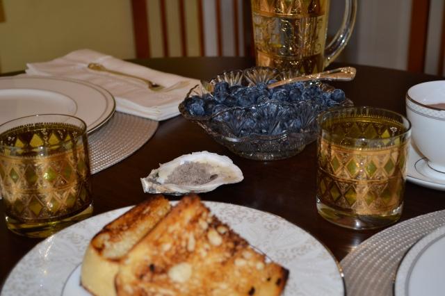 Baked Eggs - toast