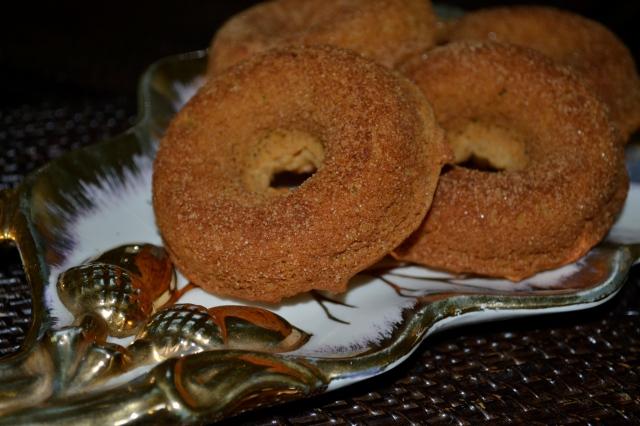Pumpkin Doughnuts 1